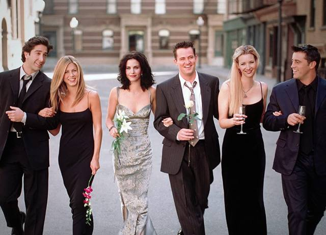 Friends, the reunion we've been waiting for