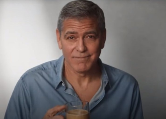 George Clooney and friends of Nespresso define care