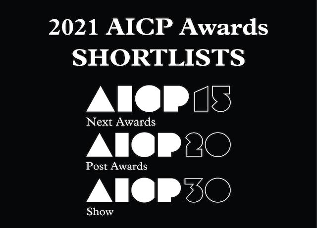 AICP: Shortlists announced for 2021 Awards