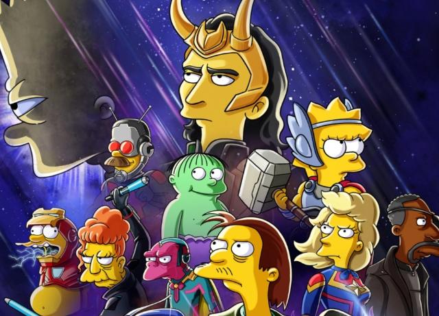 Disney+: New Simpsons short featuring Marvel's Loki