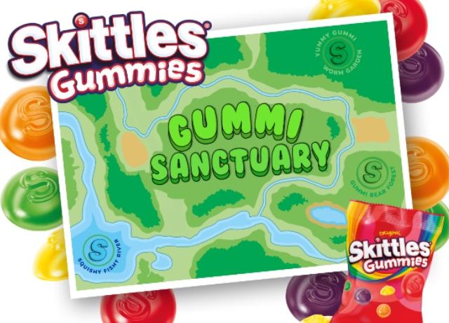 Skittles Gummies unveil gummi animal sanctuary