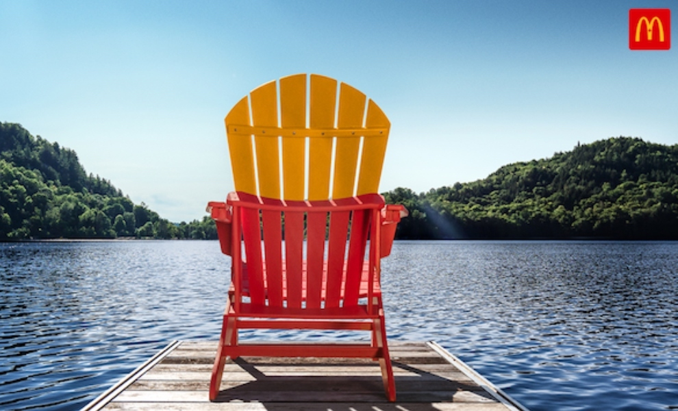 McDonald's Canada encourages vacationers to take a break