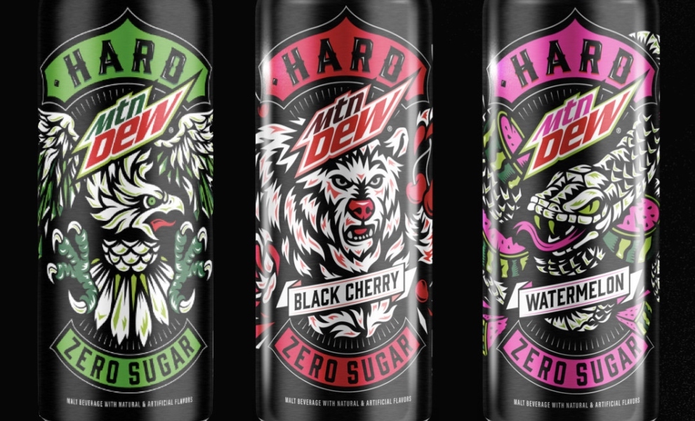 MTN DEW partners with Boston Beer to produce alcohol brand
