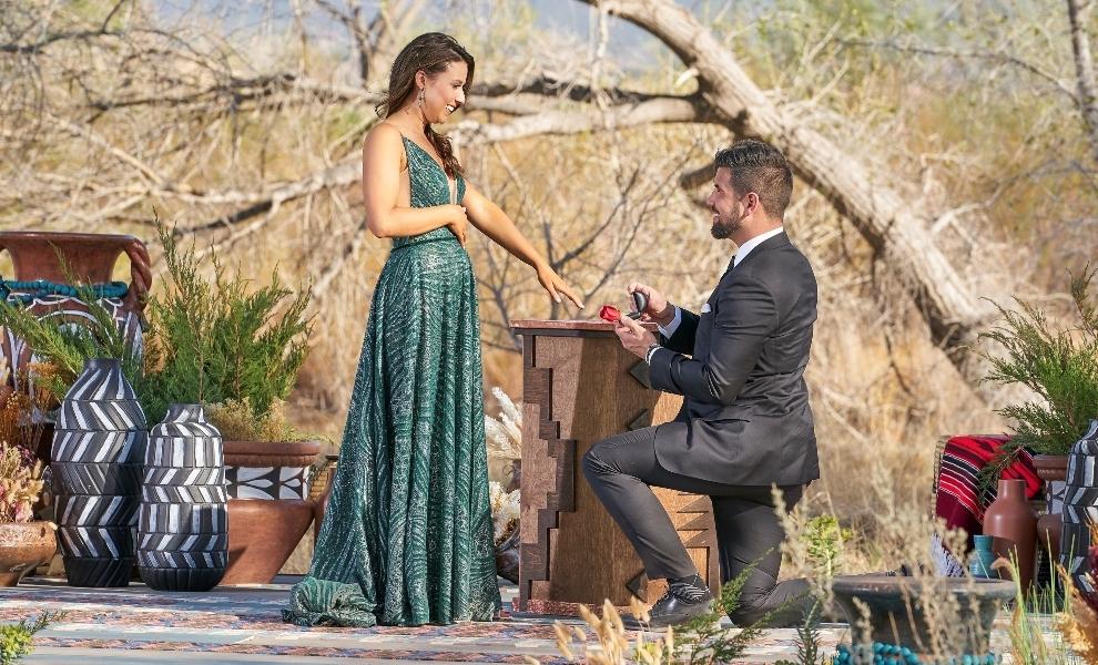 Bachelorette: Katie Thurston says Yes to Blake Moynes and Neil Lane ring