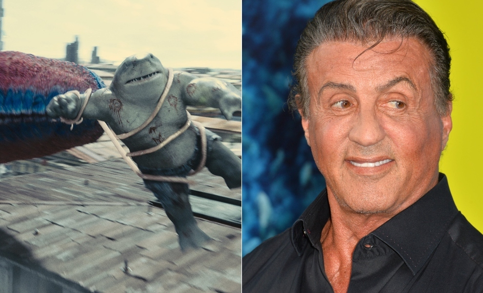 Sylvester Stallone on adding bite to Suicide Squad's King Shark
