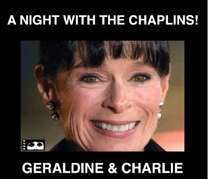 Geraldine Chaplin to talk about Charlie at CIFF event