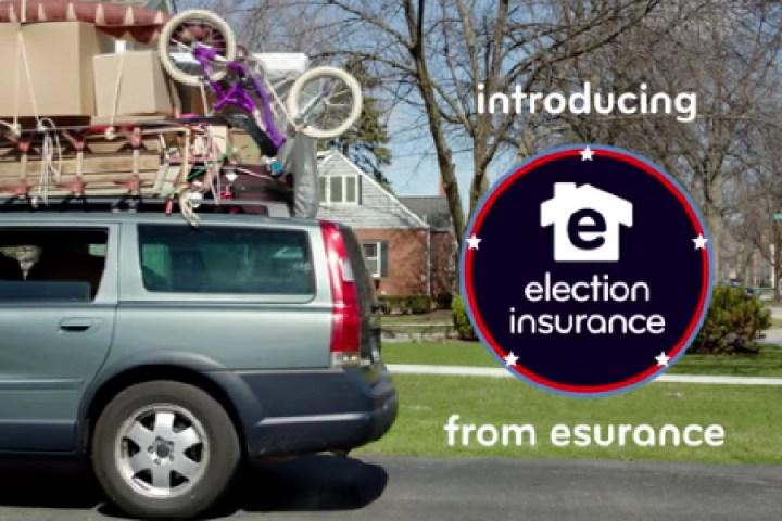 Utopic edits Burnett / Esurance election spoof video