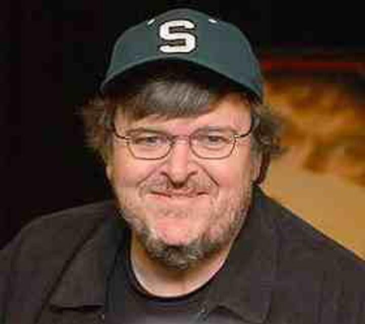 Docmaker Michael Moore has 2 dates here this week