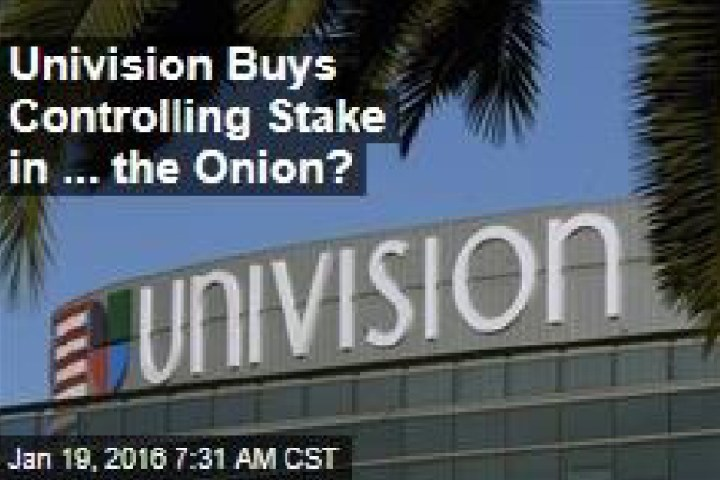 Univision buys into The Onion to reach Millennials