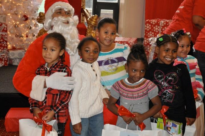 Cinespace treats 500 kids, families to holiday fun