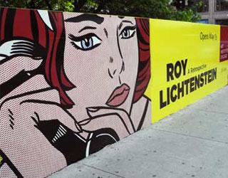 Art Institute uses web to promote Lichtenstein show