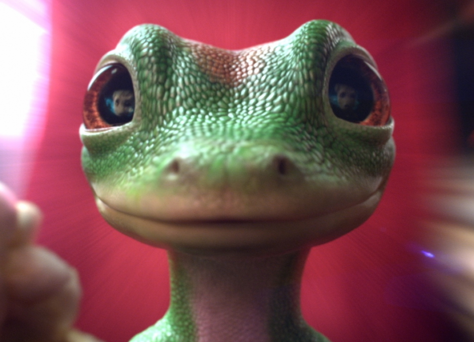 Framestore helped to enhance the look as well as the personality of the cockney Geico Gecko