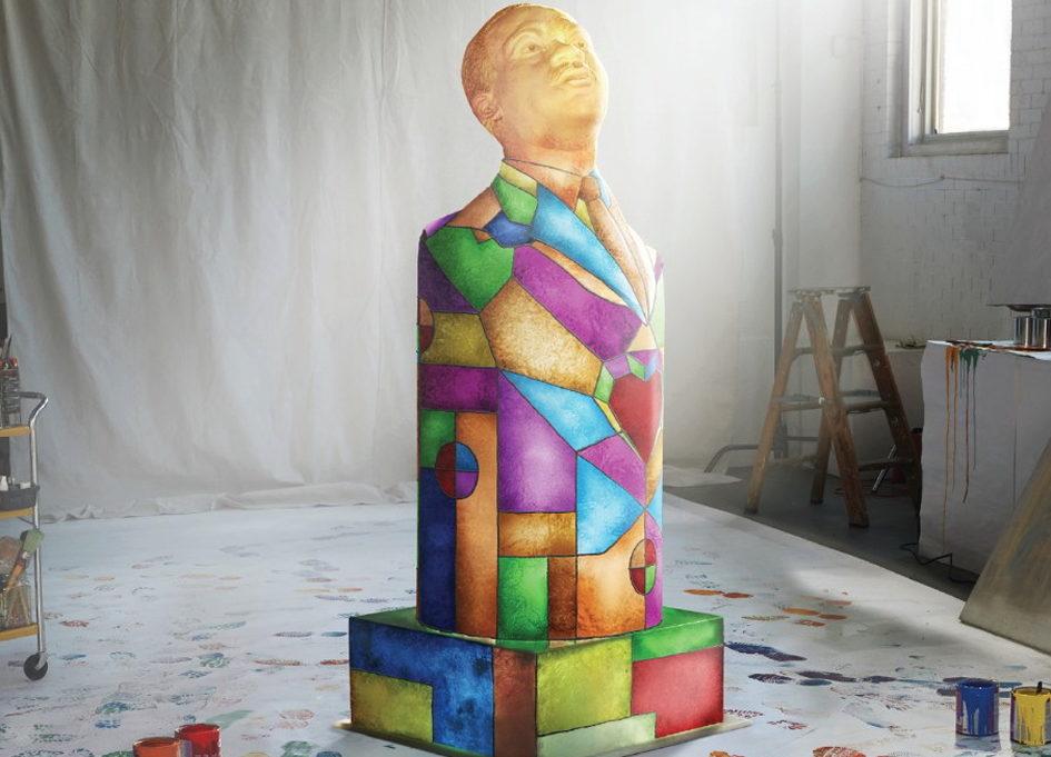 Burrell & Comcast celebrate Dr. King's dream through art