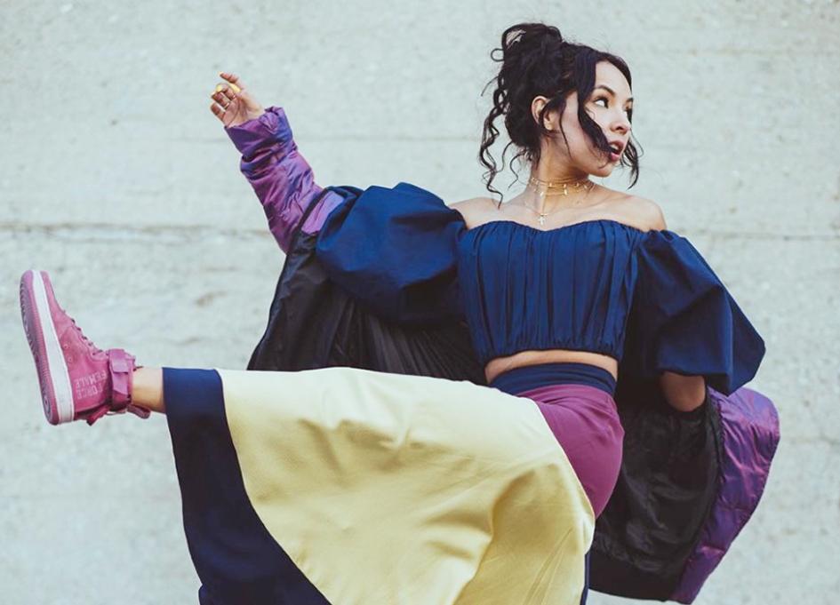 """Elizabeth De La Piedra in Nike's """"Force is Female"""" video"""