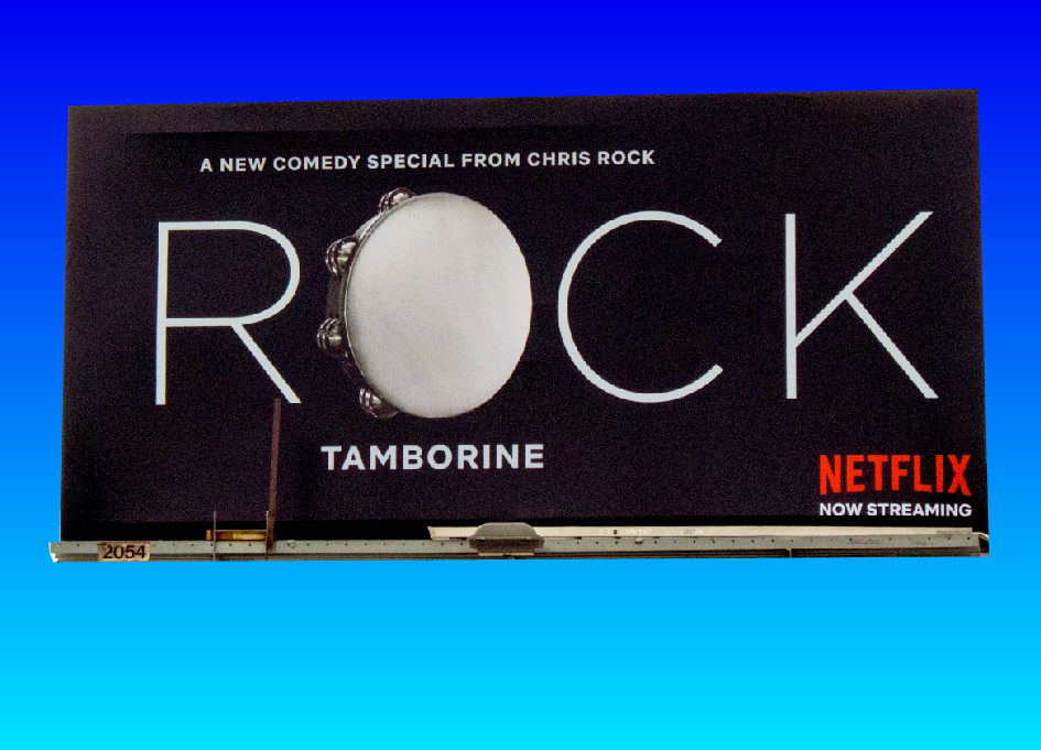 Battery creates campaign for Chris Rock Netflix show