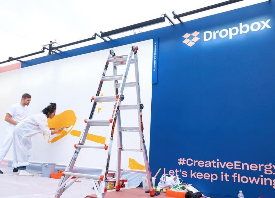 SXSW: 72andSunny, Dropbox get active through murals