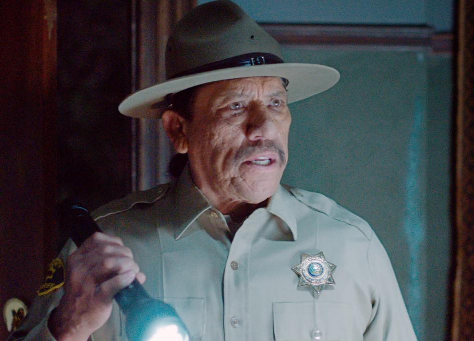 """Danny Trejo in """"Murder in the Woods"""""""