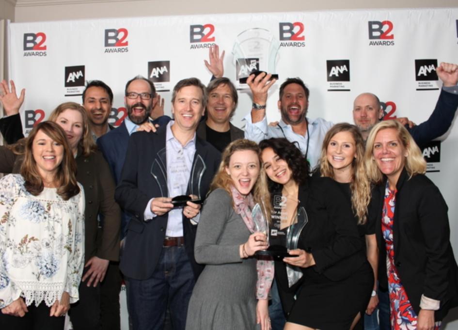 gyro named '2018 Global B2B Agency of the Year' by ANA