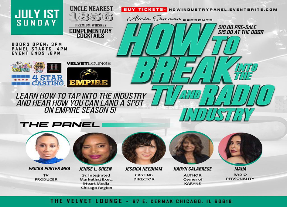 Insiders reveal how to break into TV and radio