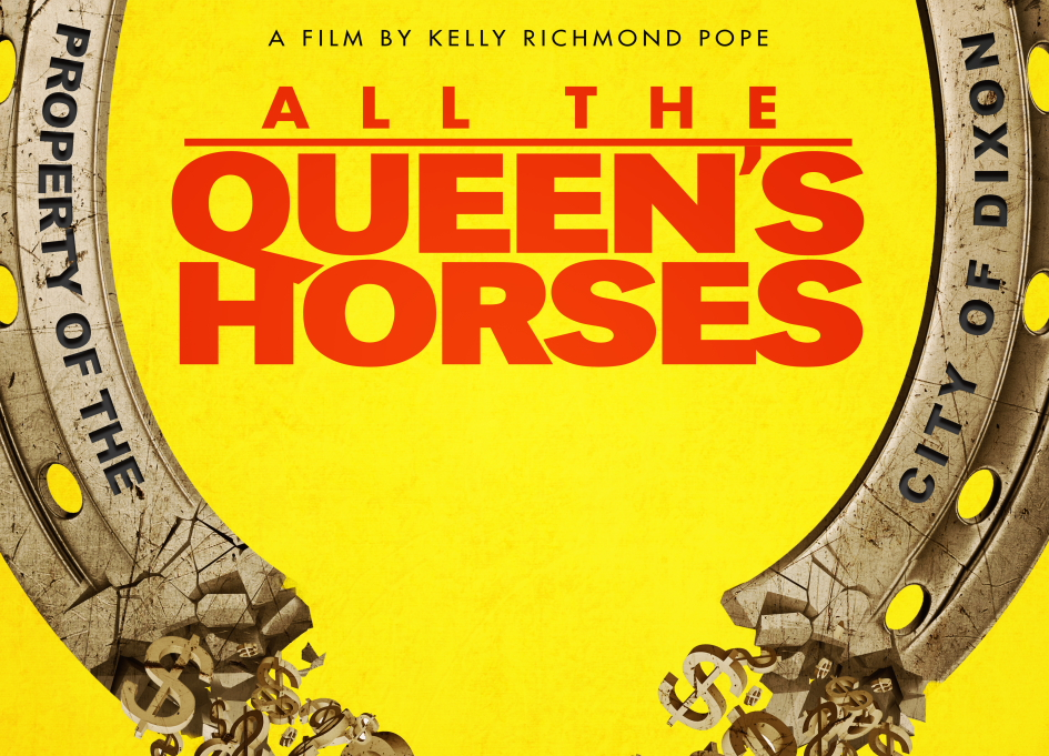 """Flyer for """"All the Queen's Horses"""""""