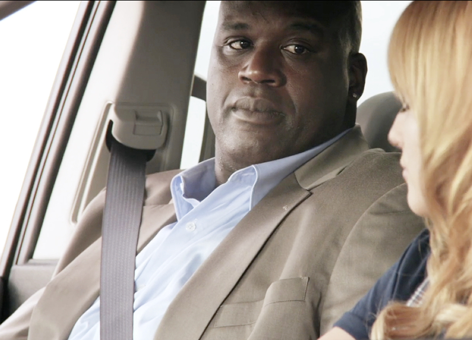 "Shaq and Bella in ""iDecide"""