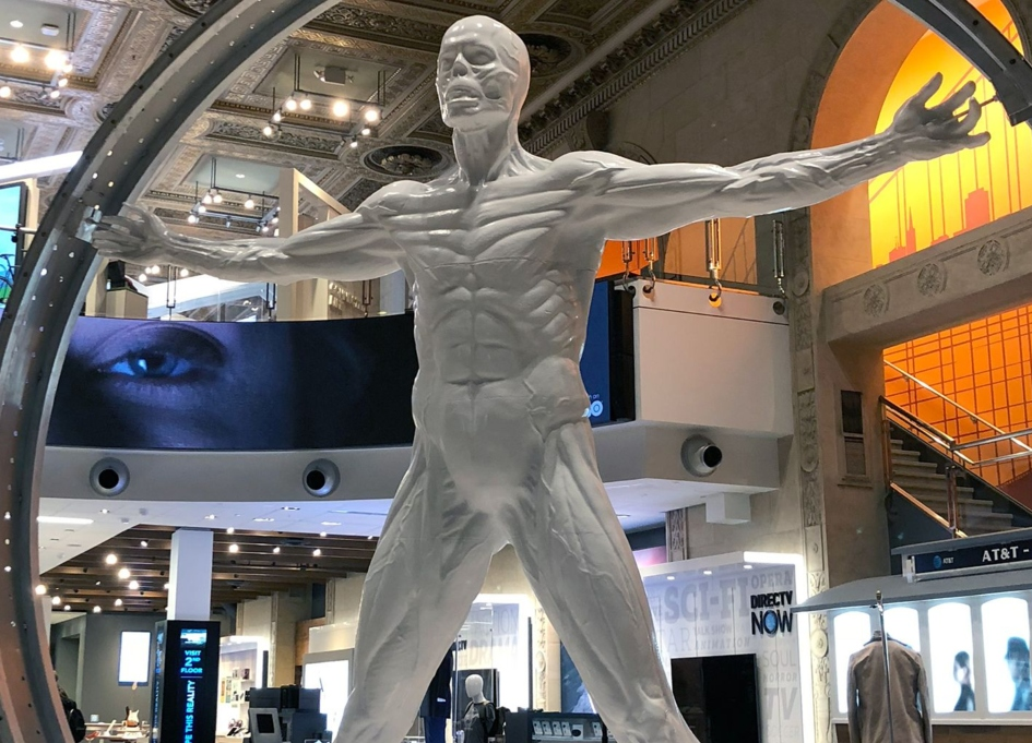 Digital Kitchen brings 'Westworld' to Chicago AT&T stores