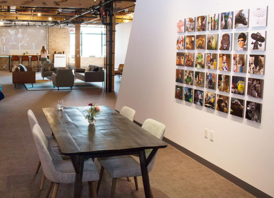 Framestore's Chicago office, a year after the launch