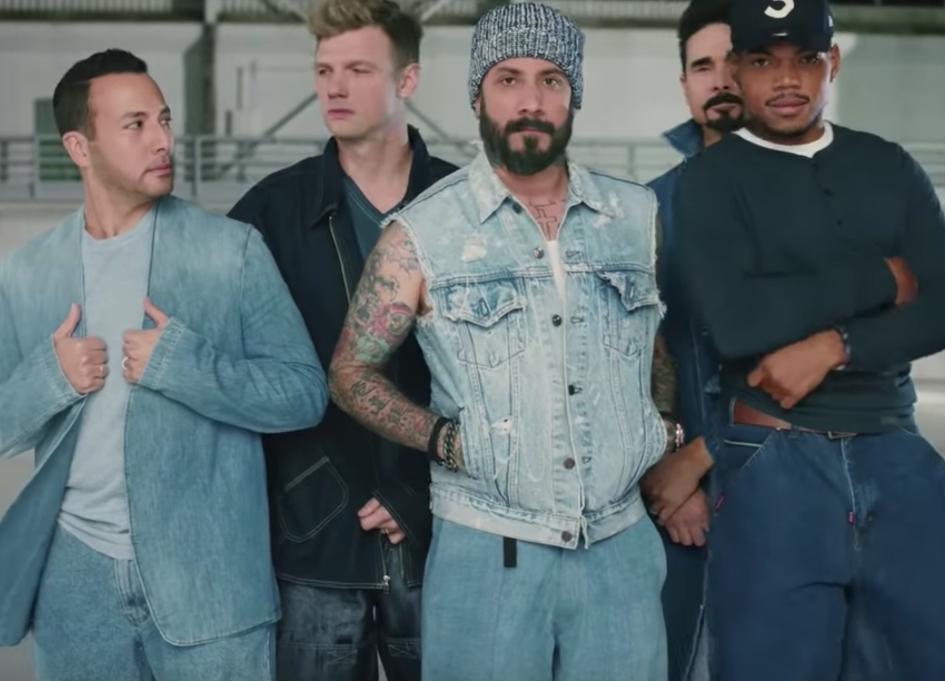 Flamin' Hot Doritos 'collabs' with Chance & Backstreet
