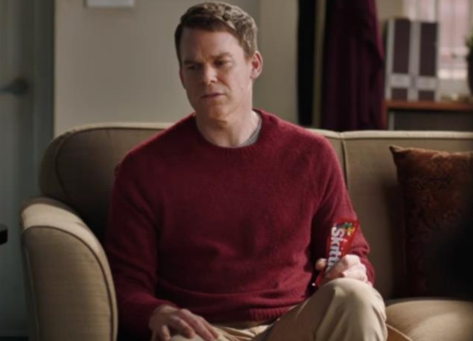 Michael C. Hall goes to Broadway with Skittles