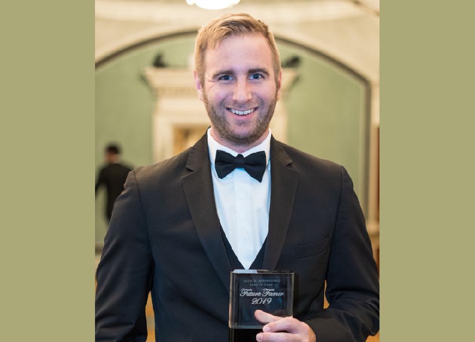 Closerlook ACD Dan Morrill wins MAHF Award