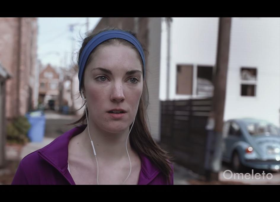 """Clare Cooney in """"Runner"""""""