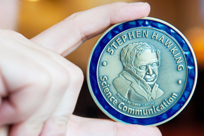 The Stephen Hawking Medal for Science Communication