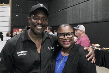 Eamonnn Walker and Sheila R. Brown
