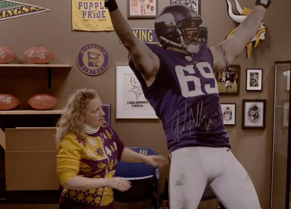 Minnesota Lottery introduces us to Viking fan Jan