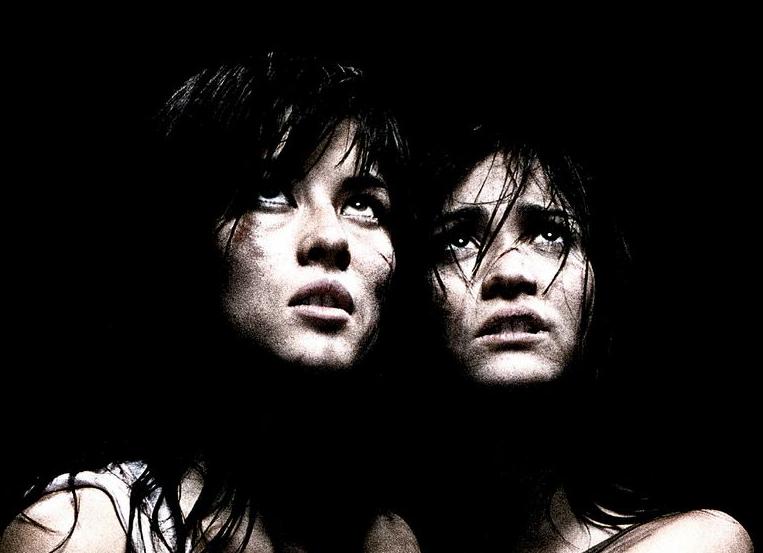 Mylène Jampanoï and Morjana Alaoui in 'Martyrs'