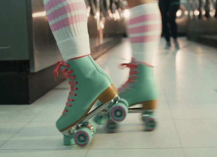 Daily Planet goes roller disco for City Pop Cola