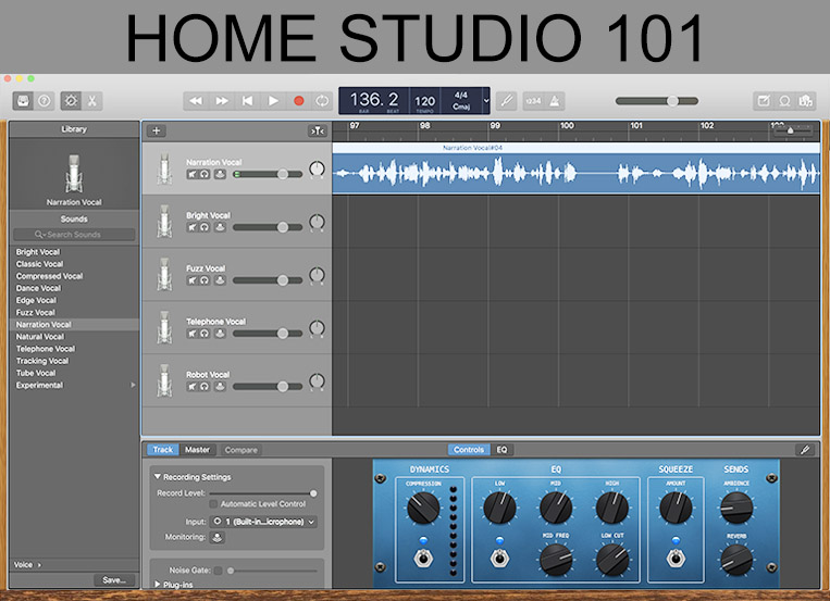 The New Normal – DIY Your Own Home Recording Studio