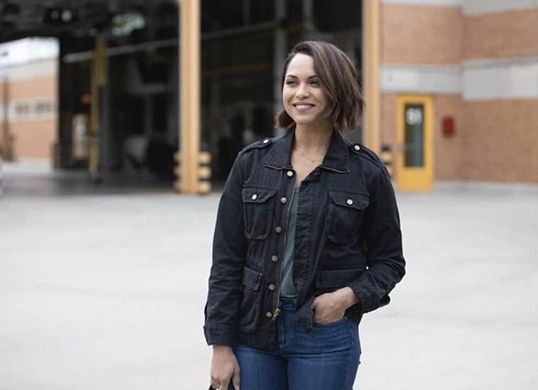 Monica Raymond director of FBI & Chicago PD crossover