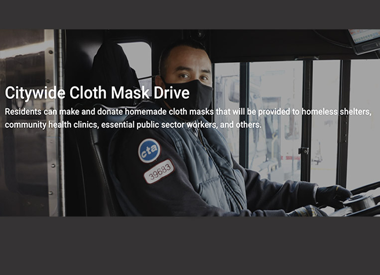 Mayor Lightfoot launches citywide 'Make a Mask' drive
