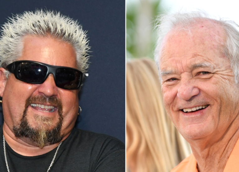 Bill Murray, Guy Fieri have Nacho Average Showdown
