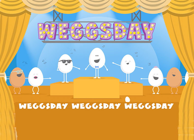 Move over Taco Tuesday… here comes WEGGSDAY!