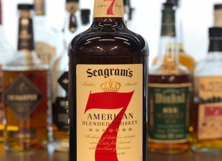 Seagram's 7 commits to 100% recycled plastic bottles
