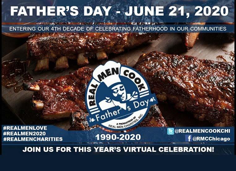 Real Men Cook celebrating black men & families