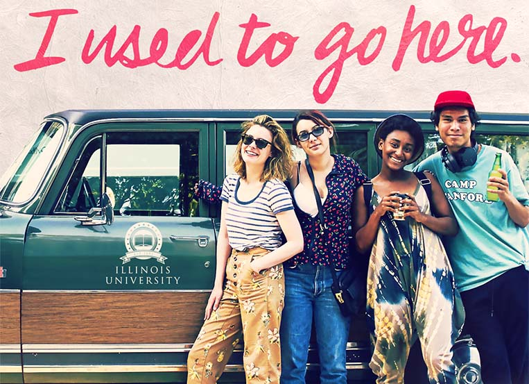 Chicago-made 'I Used to Go Here' has drive-in premiere
