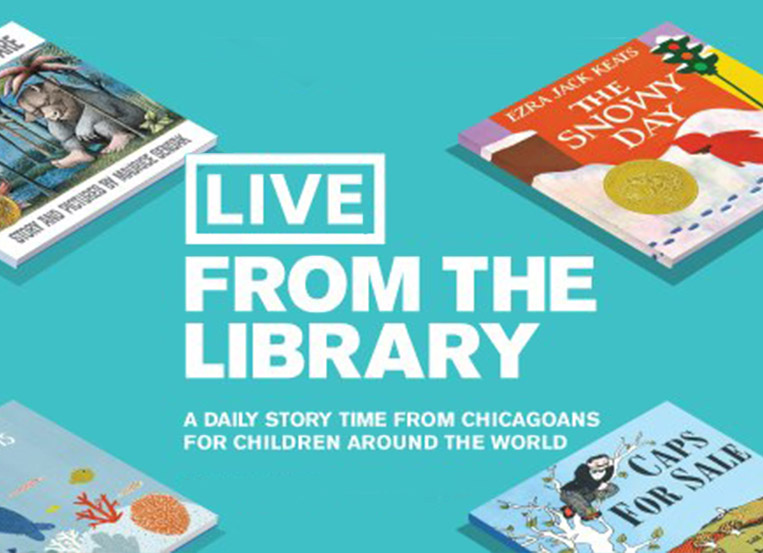 "Chicago area celebs join  CPL's ""Live From the Library"""