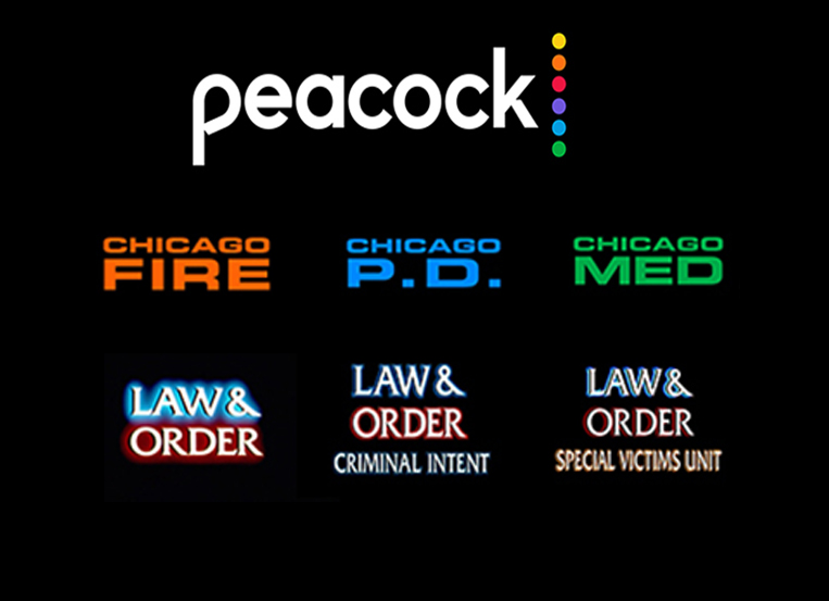 Chicago PD, Fire, and Med now streaming on Peacock