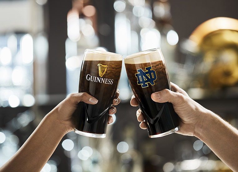 The Brewing Irish are partnering with the Fighting Irish