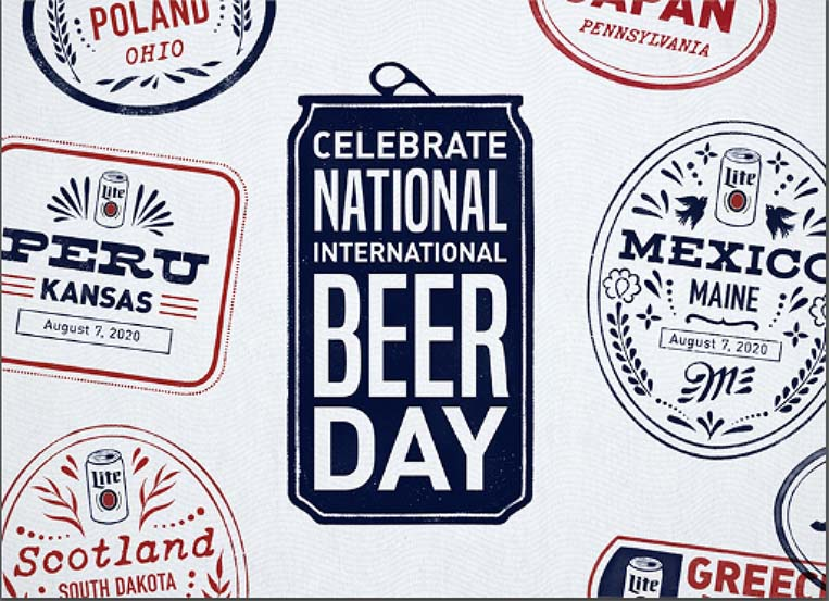 Miller Lite is bringing International Beer Day stateside