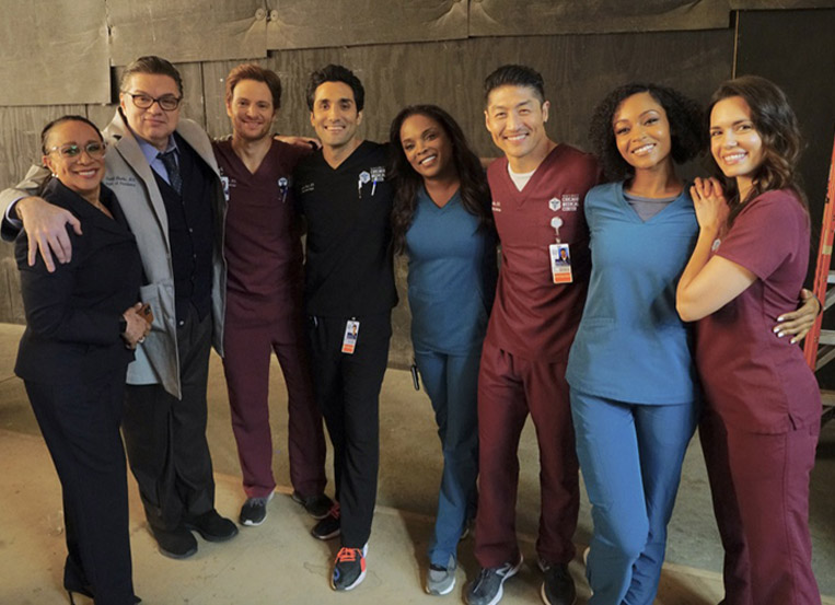 'Chicago Med' halts filming over positive Covid-19 test