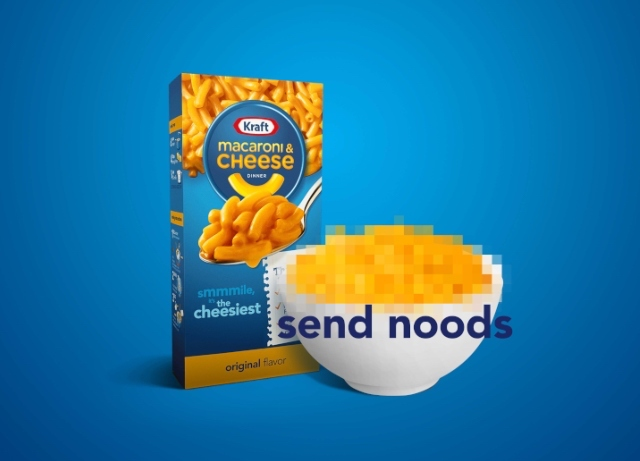 "Mill Chicago helps Kraft fans send ""noods"""